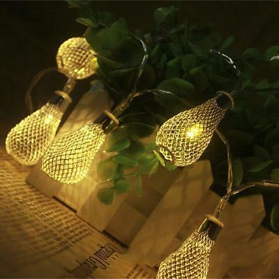 Romantic Decorative String Light Battery Operated, Greenclick 8 Modes Metal...