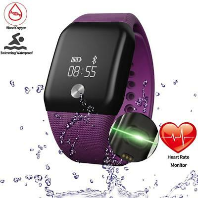 Getfitsoo Smart Bracelet Watch, Swimming Waterproof Fitness Tracker with...