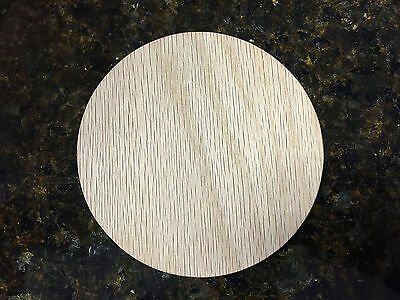 """Extra Large Unfinished Oak Wood Circles 7"""", 8"""", 9"""" 10"""", 11"""" or 12"""" x 3/4""""+ thick"""