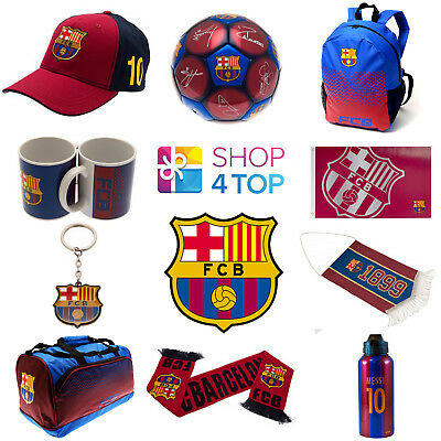 Fc Barcelona Football Club Official Fan Apparel Merchandise Soccer Team New