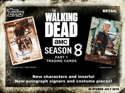 Topps The Walking Dead Season 8 Part 1 Trading Cards *PRE ORDER*
