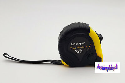 3 Meter Tape Measure Heavy Duty With Safety Lock And Carry Hook