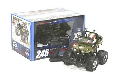 Tamiya 57743 XB Pro Wild Willy II Jeep Ready Built, Ready To Run RC Car 2.4Ghz