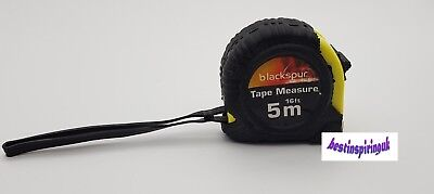5 Meter Heavy Duty Tape Measure With Safety Lock And Carry Hook
