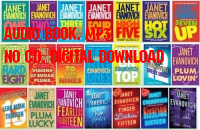 22 Audiobooks - Stephanie Plum Series by Janet Evanovich Collection