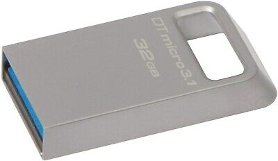 Kingston DataTraveler Micro 3.1 32GB USB 3.0 Flash Stick Pen Memory Drive