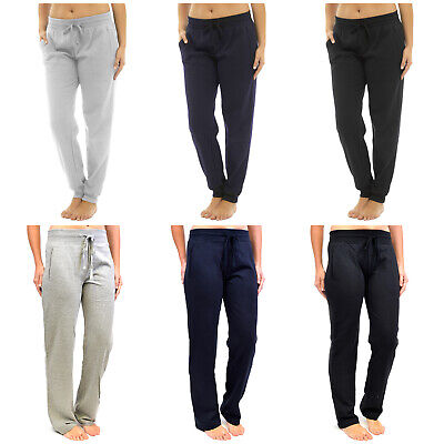Ladies Womens Jog Pants Yoga Casual Gym Joggers Jogging Bottoms Running Trousers