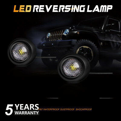 2×  LED Reverse Light Backup Reversing Auxiliary Parking Lamp Bulb Offroad Osram