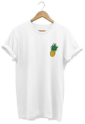 Pineapple T Shirt Unisex Mens Womens Funny Hipster Tumblr Slogan Ladies