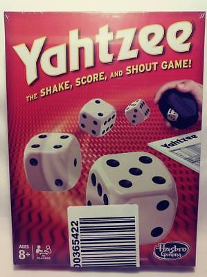 Yahtzee Classic Board Game Hasbro Gaming 8+ New Sealed Free Fast Shipping