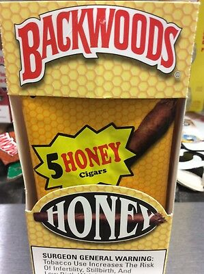 Backwoods Honey  ( PACK OF 5 )  Rare, Fast Shipping
