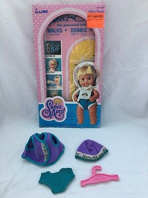 Vintage Remco SWEET APRIL Doll OUTFIT In BOX Purple & Turquoise