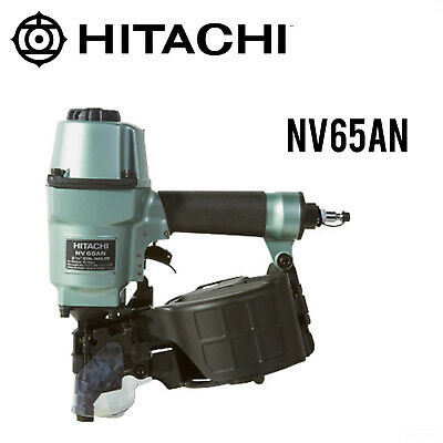 "Hitachi NV65AN 2-1/2"" Coil Pallet Nailer NEW w/Full Warranty"