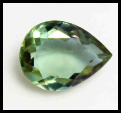 13.10Ct Certified Pear Cut Attractive Color Changing Alexandrite Gemstone AQ1862