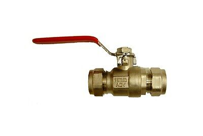 15mm Oventrop Brass Lever Ball Valve Full Bore Unused PN30 Top Quality