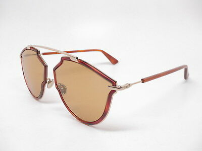 992a071c61f7 NEW CHRISTIAN DIOR So Real Rise 06J70 Gold Havana with Light Brown  Sunglasses -  237.15