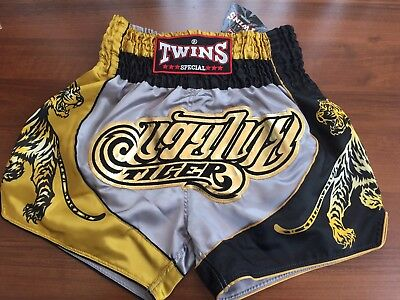"New In! ""Tiger"" Twins Special Muay Thai/Boxing Shorts Adults Size XL"
