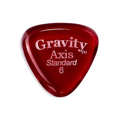 Gravity Pick - Axis 6.0mm Standard Polished - Lot of FIVE picks