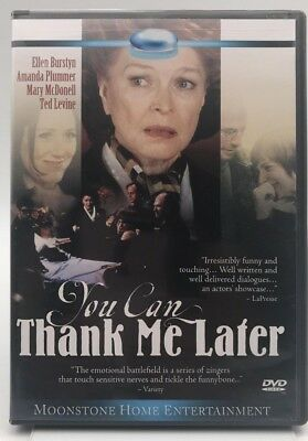 You Can Thank Me Later (DVD) Like New