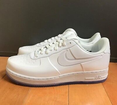 new styles 7aecb 14a4b NIKE AIR FORCE 1 Foamposite Pro Cup Low White Ice Size 8-13 Aj3664-100