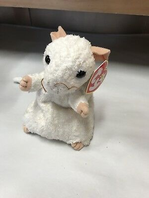 5.5 Inch PR* Ty Beanie Baby ~ CHEDDAR  the Mouse PLEASE READ MINT