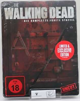 The Walking Dead - Staffel 5 - Limited Weapon Steelbook (Uncut Edition)