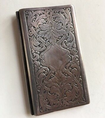 Antique Kerr Sterling Small Hinged Book French Insert