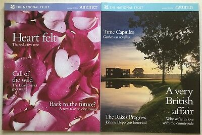 The National Trust Magazine Number 102 Summer 2004 & Number 103 Autumn 2004