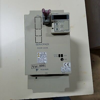 1PC Used Yaskawa servo driver SGDB-20VN BIESSE Rover 23 In great Condition