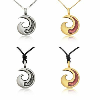 Cute New Maori Tribal Fishing Hook Silver Pewter Brass Necklace Pendant Jewelry