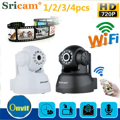 4x 720P HD Wifi Wireless Network IP Camera Baby Monitor CCTV Security System AUS