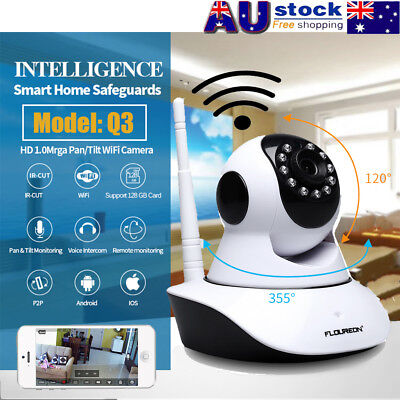 720P HD Wifi Wireless Network IP Camera Baby Pet Monitor CCTV Security 2Way Talk
