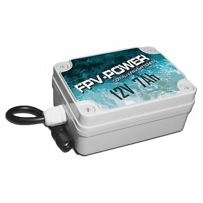 FPV 12v 7AH Lithium Kayak Battery with Charger & Pigtail