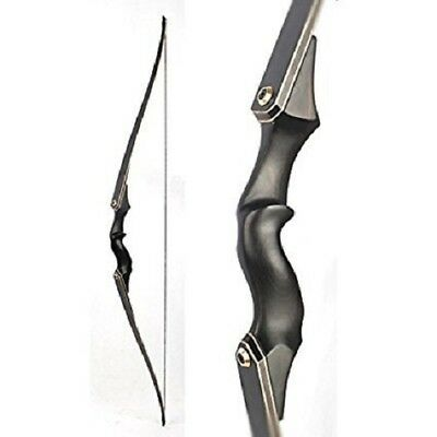 """60"""" 30-60bs Archery Longbow Wooden Bows Hunting Target Practice Right Hand"""