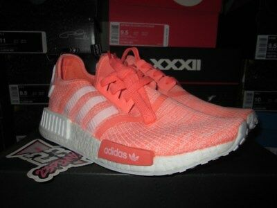 f88bfe3f6 ADIDAS BY3034 NMD R1 Sun Glow Footwear White Haze Coral WO S Size 9 ...