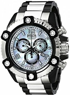 Invicta Arsenal Reserve 63mm Grand 15834 Swiss Made Quartz Chro Stainless Steel