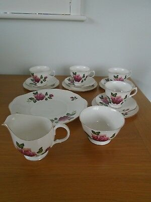Vintage Gainsborough Bone China Part Tea Set Wedding /  Tea Room  / Garden Party