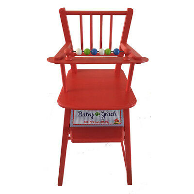 Shop Display Wooden Dolls Highchair High Chair - Great for Window Display