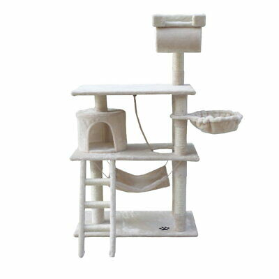 Cat Scratching Poles Post Furniture Tree House Condo Pet Accessories