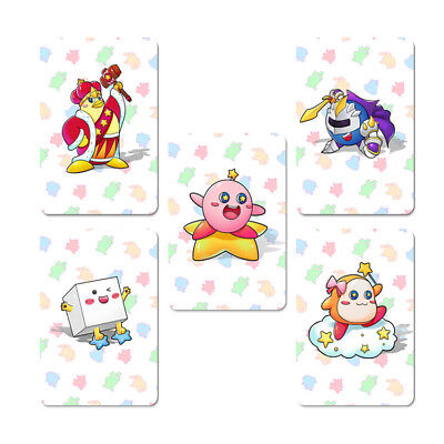 5pcs Full Set NFC PVC Tag Card of The Kirby Star Allies for Nintendo Switch