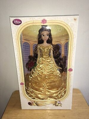 """Disney Limited Edition 17"""" Yellow dress Belle"""