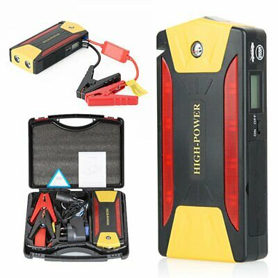 68800mAh Car Vehicle Jump Starter Battery Booster Emergency Charger Power Bank