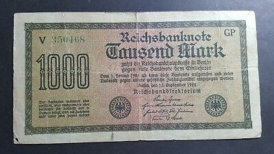 Germany 1000 Mark 1922