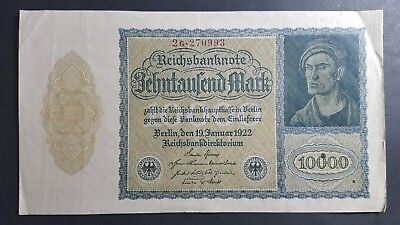 Germany 10,000 Mark 1922