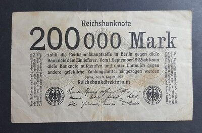 Germany 200,000 Mark 1923