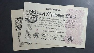 Germany 2 million Mark 1923
