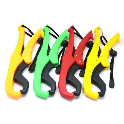 1PCS Fish Grip Plastic Fishing Gripper Holder Floating Lip Grabber Lanyard Tools