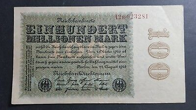 Germany 100 million Mark 1923