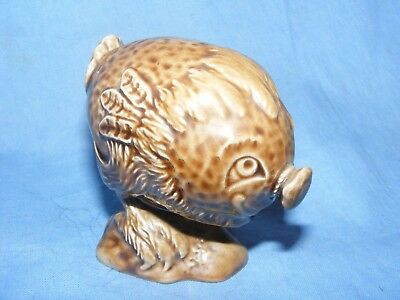 Beswick Whisky Bottle Haggis Beneagles 1972 Scotch Whiskey Scotland Decanter