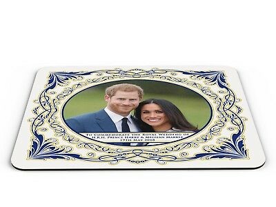 Royal Wedding of HRH Prince Harry & Meghan Commemorative PC Mousemat